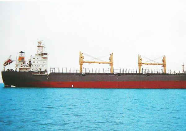 24400吨散货船