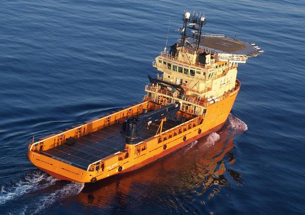 6000马力平台供应船