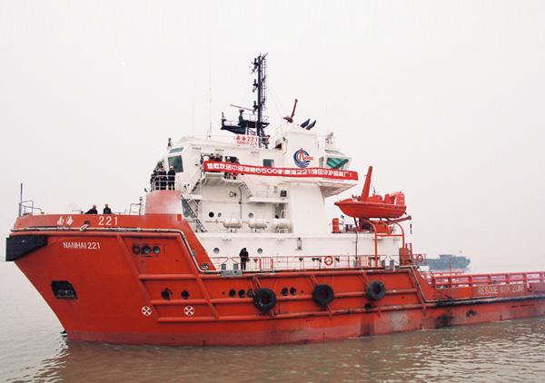 6500马力守护船