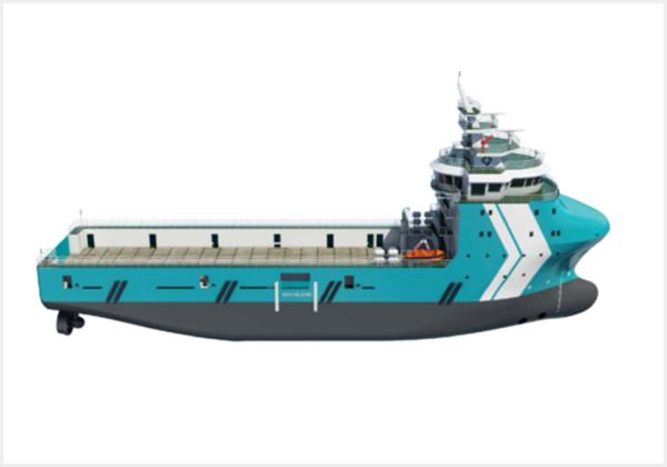 79米/4000吨平台供应船(电推)...