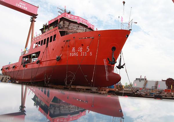 46米溢油回收船