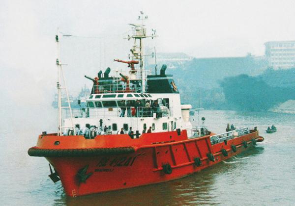 4000马力沿海拖带供应船...