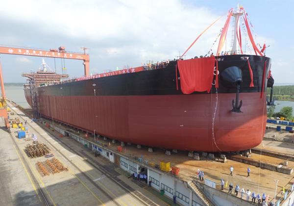 64000吨散货船