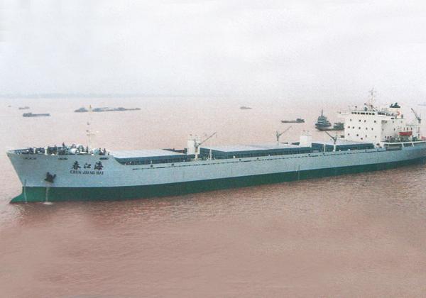 12,000吨江海直达散货船(1994—...